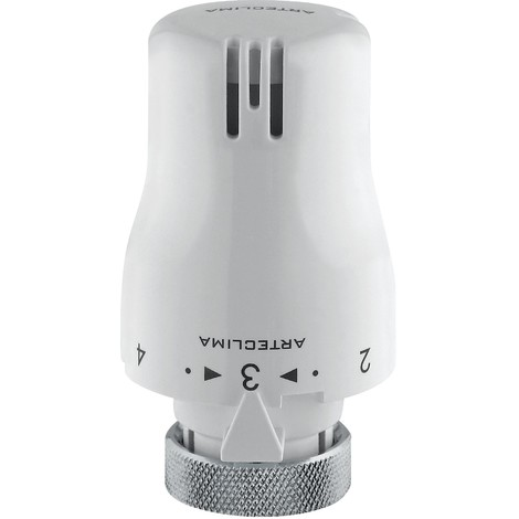 Tête thermostatique avec capteure liquide Arteclima 39001 | Blanc