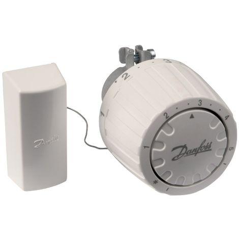 Tête thermostatique de remplacement (bulbe à distance) Danfoss