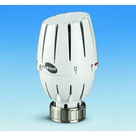 Tête thermostatique OVAL Pettinaroli 107L | blanc