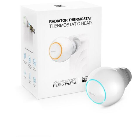 Tête thermostatique Z-Wave+ - Fibaro - {couleurs}