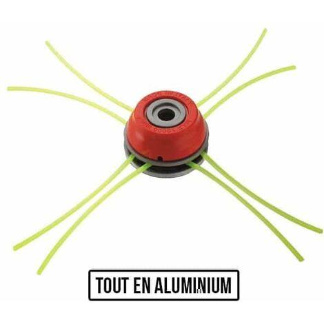 Tête universelle débroussailleuse multifils multi-étage aluminium