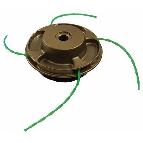 Tête universelle métal ASSASSIN débroussailleuse à dos 25cc - livré avec fil VORTEX