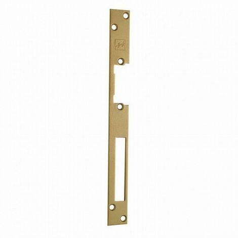 Têtière longue HZ Gold S 967 EFF EFF pour gâche électrique 44501 - double empenage réversible - 06445011