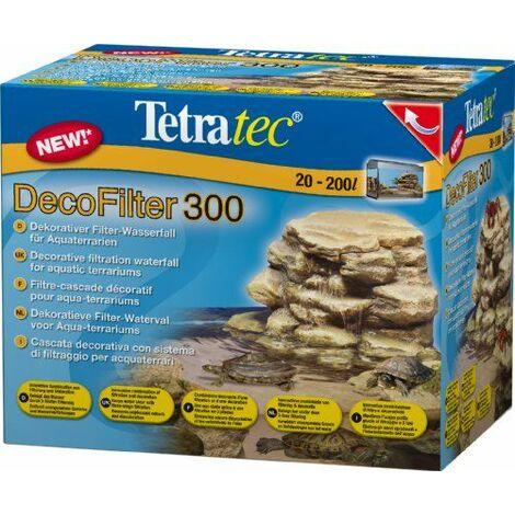 Tetra - 182073 - Filtre et Décor pour Aqua-terrarium - ReptoDecoFilter 300