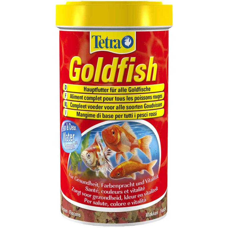 Aliment Complet Goldfish en Flocons pour Poissons Rouges - 500ml - Tetra
