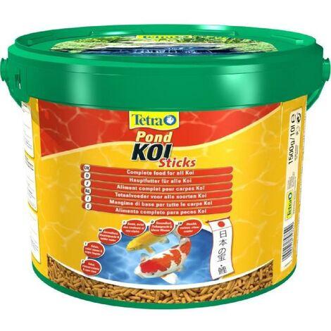 TETRA Aliment complet stick - Tetra Pond Koi stick - 10 L - Pour les carpes Koi