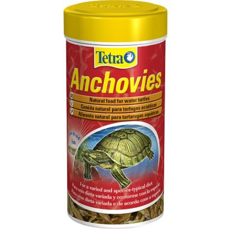 "main image of ""TETRA ANCHOVIES, Alimento natural para Tortugas de Agua, 1 Litro"""