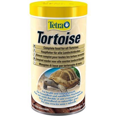 Tetra Fauna Schildkrötenfutter für Landschildkröten und Reptilien 500 ml