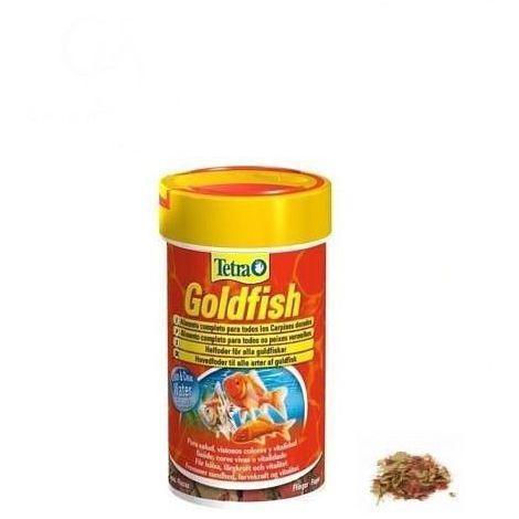 TETRA GOLDFISH alimento completo en copos para carpines dorados - 20g