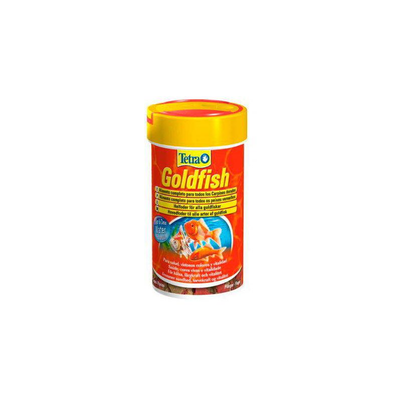 GOLDFISH alimento completo en copos para carpines dorados - 52g / 250 ml - Tetra