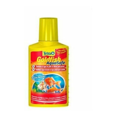 "main image of ""Tetra Goldfish AquaSafe acondicionador de agua"""