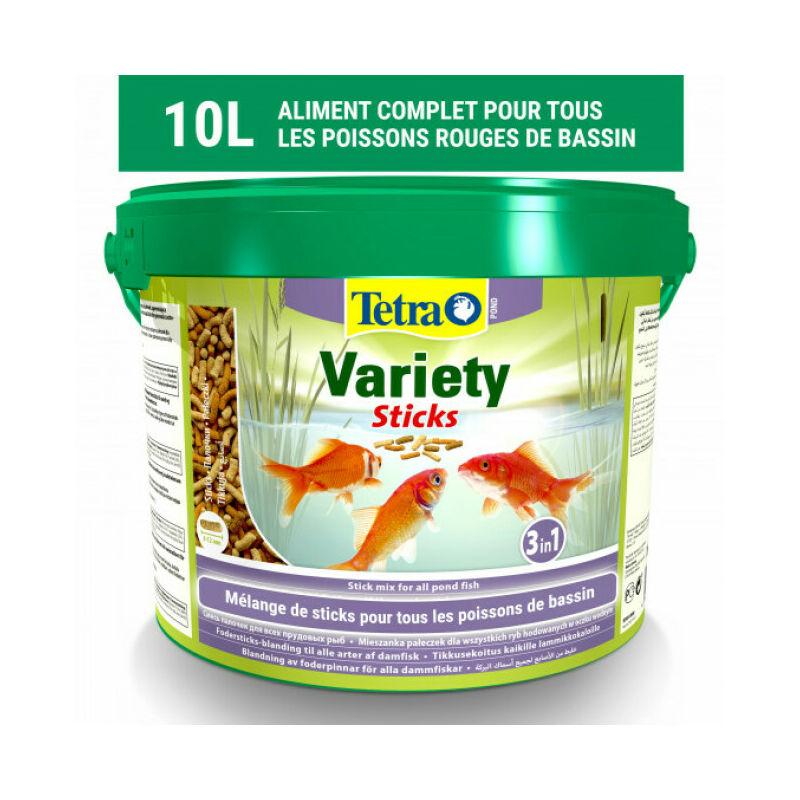 Alimentation Pond Variety Sticks Contenance 10 litres - Tetra