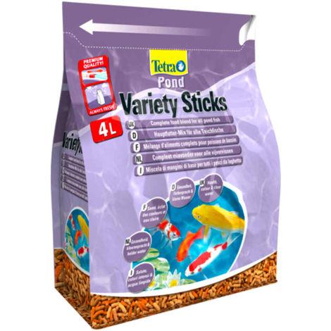 Tetra - Mélange Pond Variety Sticks en Sticks pour Poissons de Bassin - 4L