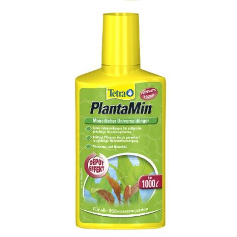 Tetra PlantaMin para el Cuidado de Plantas de Acuario - 250ml