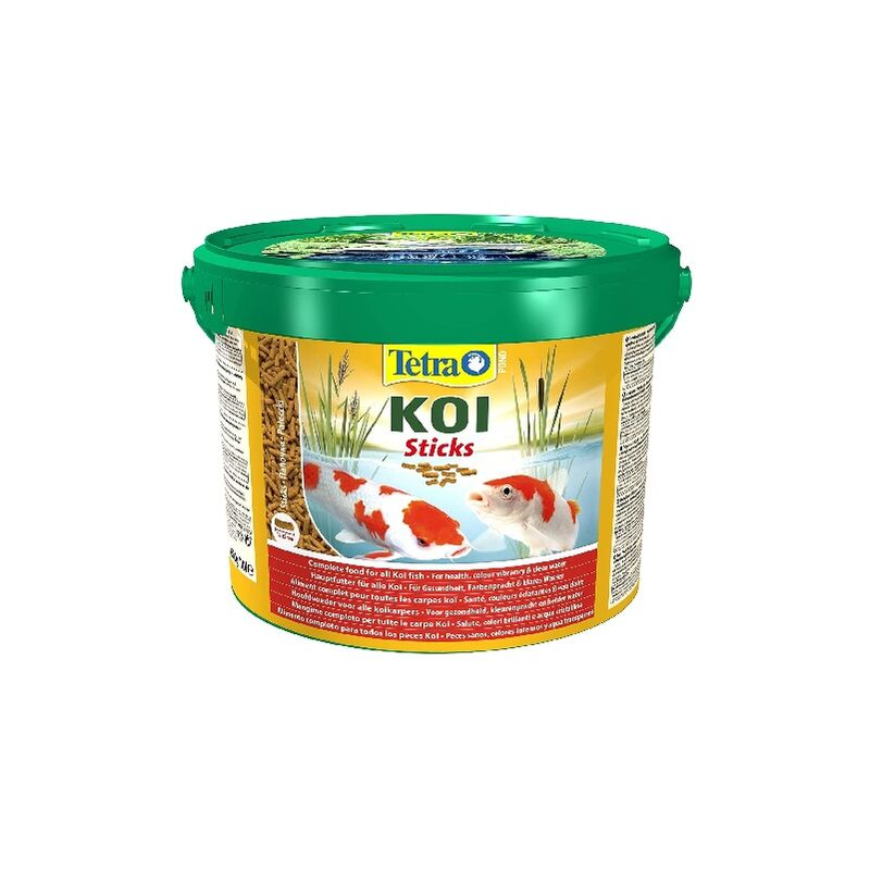 TETRA POND KOI STICKS, Alimento para Carpas, Pack 2 x 10 L