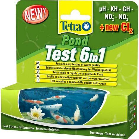 Tetra Pond Test Strip 6 In 1 [SNG] 25 Tests x 1 (69811)