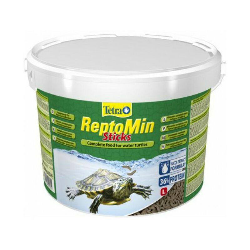 Alimentation premium équilibrée pour tortues aquatiques ReptoMin - 10 litres - Tetra