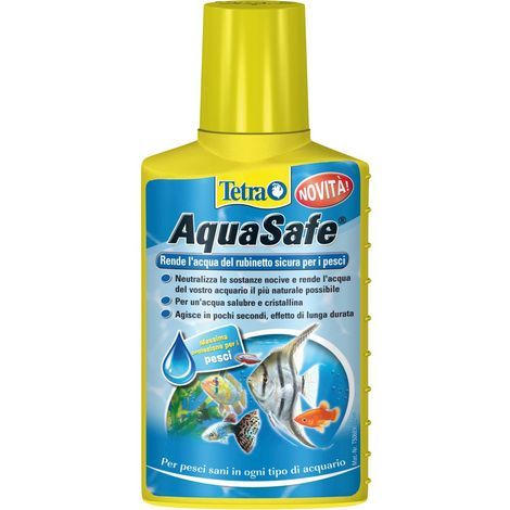 Tetra Safe Water Makes tap water safe and suitable for fish Tetra