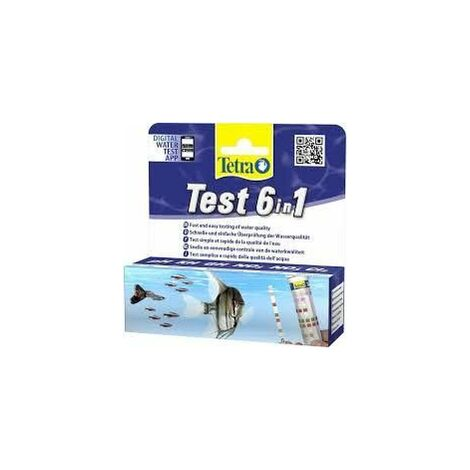 Tetra test 6in1 10 bandelettes