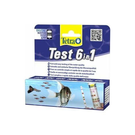 Tetra Test Strips 6 In 1 [SNG] x 1 (5582)