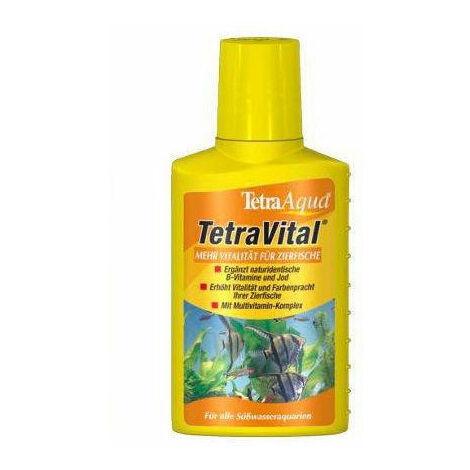 TETRA VITAL 100ml favorece la vitalidad y el bienestar de los peces