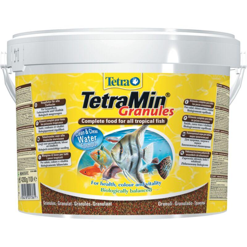 Aliment complet Tetramin granulés 10 litres