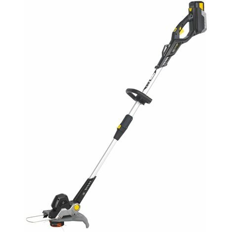 Texas GTX4000 40V Cordless Grass Trimmer and edger | auto-feed line head | battery and charger included