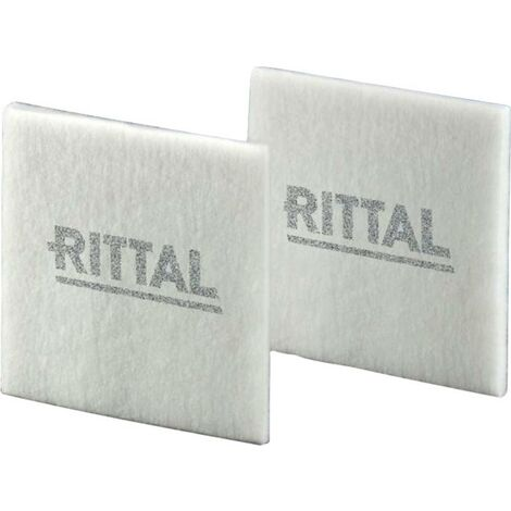 Textile filtrant Rittal SK 3182.100 3182100 (l x H x P) 221 x 221 x 12 mm 5 pc(s)