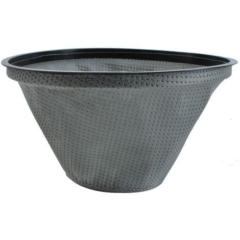 Textilfilter Materialfilter für Aschesauger passt für Kaminer Staubsaugermodelle 9243 : 20L/18L
