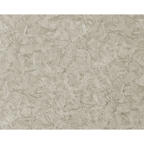 Textured wallpaper wall EDEM 9086-27 hot embossed non-woven wallpaper embossed unicoloured shimmering silver grey 10.65 m2 (114 ft2)