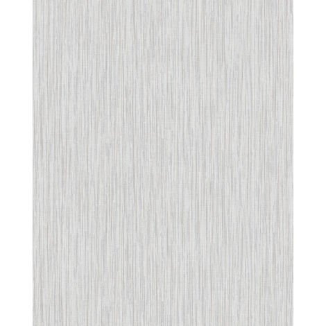 Textured wallpaper wall Profhome VD219133-DI hot embossed non-woven wallpaper embossed unicoloured shimmering white light grey 5.33 m2 (57 ft2)