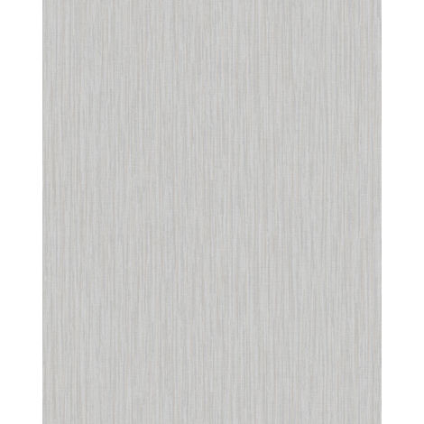 Textured wallpaper wall Profhome VD219134-DI hot embossed non-woven wallpaper embossed unicoloured shimmering grey platinum 5.33 m2 (57 ft2)