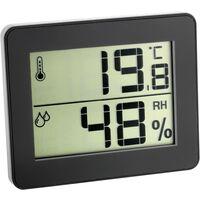 TFA Dostmann 30.5027.01 Thermo-/Hygrometer Schwarz X45430