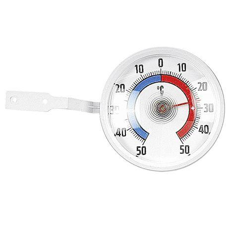 TFA-DOSTMANN Fenster-Thermometer weiß