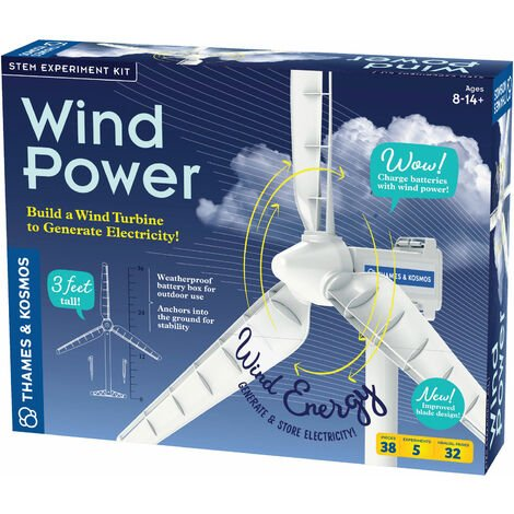 Thames & Kosmos Wind Power Renewable Energy Science Kit V4.0