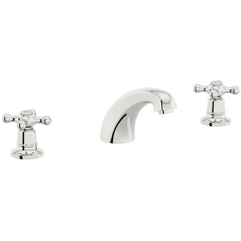 The Bath Co. Camberley 3 hole basin mixer tap