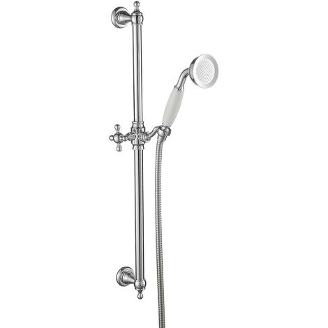 The Bath Co. Camberley traditional sliding shower rail kit