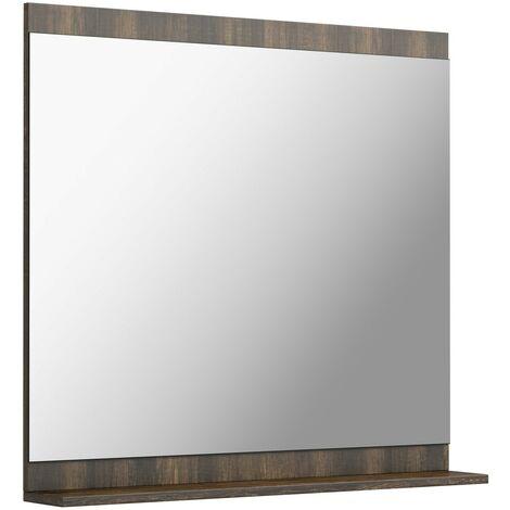 The Bath Co. Dalston bathroom mirror with shelf 750 x 800mm
