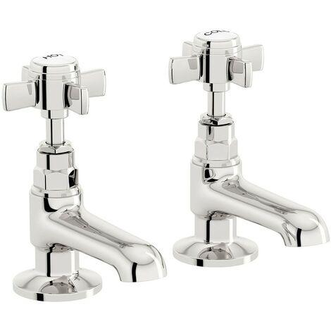 The Bath Co. Dulwich basin pillar taps