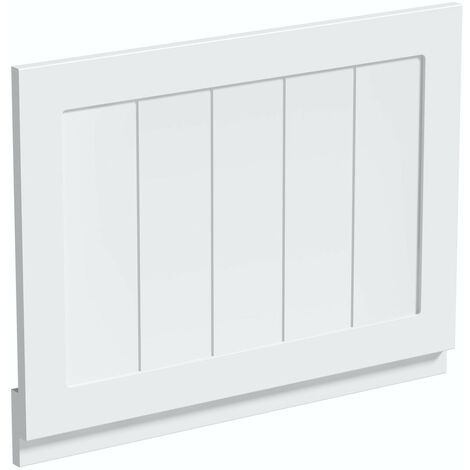 The Bath Co. Dulwich matt white wooden bath end panel 700mm