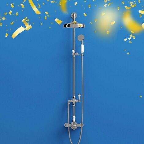 The Bath Co. Dulwich riser shower system