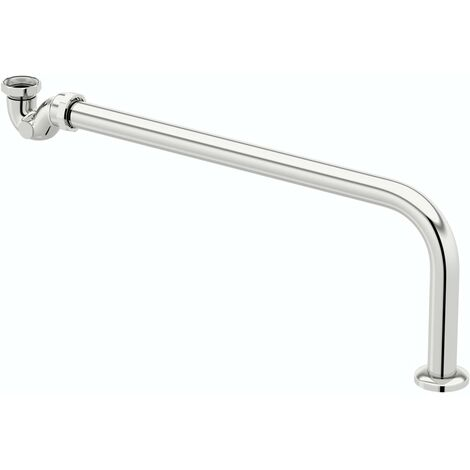 The Bath Co. Roll top bath chrome trap & waste pipe