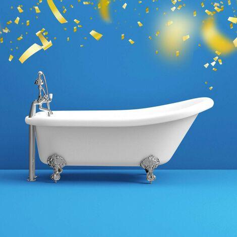 The Bath Co. Traditional single ended slipper bath 1550 x 750