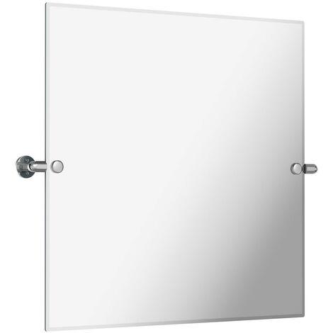 The Bath Co. Traditional square pivot bathroom mirror 500 x 500mm