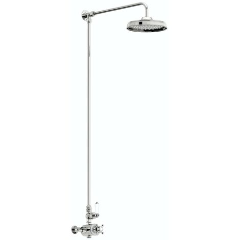 The Bath Co. Winchester exposed riser rail shower system