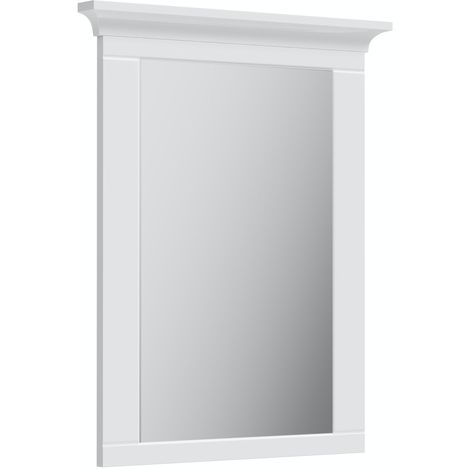 The Bath Co. Winchester white bathroom mirror 750 x 600mm