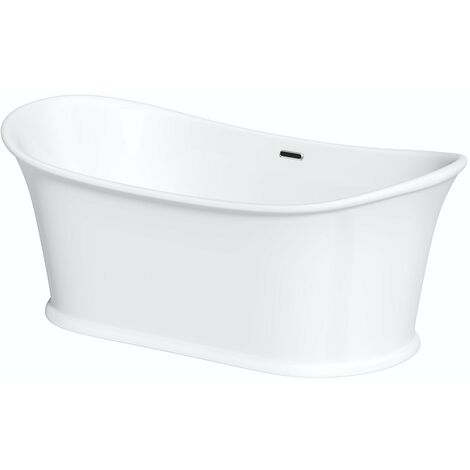The Bath Co.Chartham traditional double ended slipper bath 1675 x 865