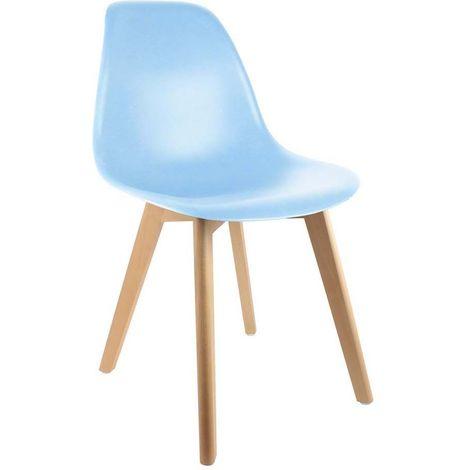 The Concept Factory Chaise enfant SCANDINA Bleu