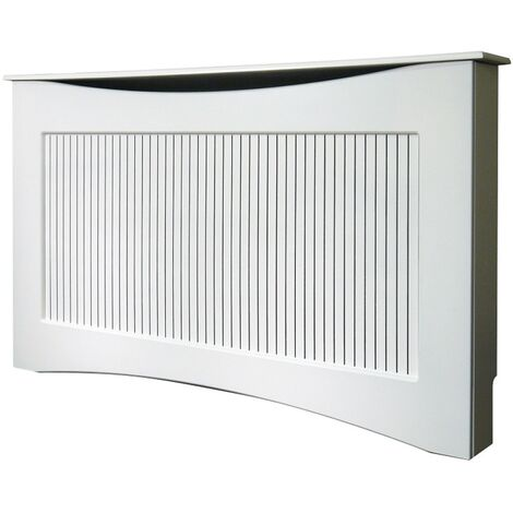 The Fairlight Radiator Cover in White, 1600mm
