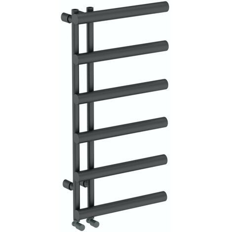 The Heating Co. Belo anthracite grey heated towel rail 1000 x 500